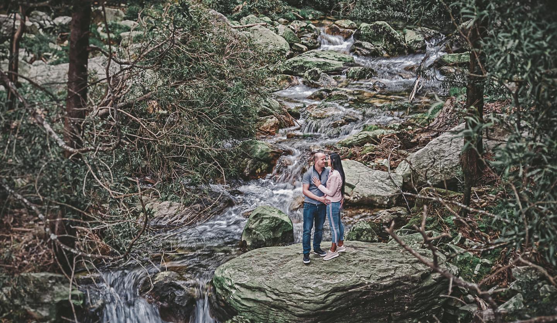 Ângela e Jorge no rio