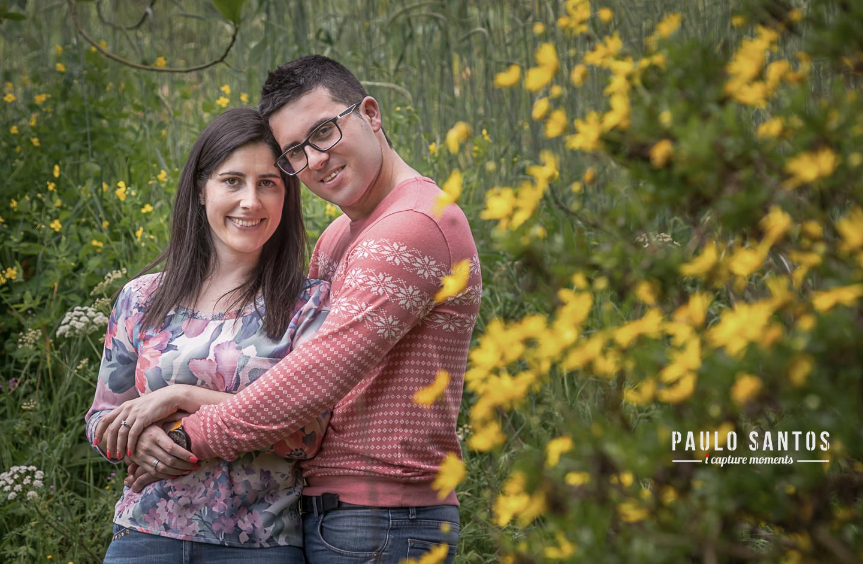 Noivos Cláudia e João