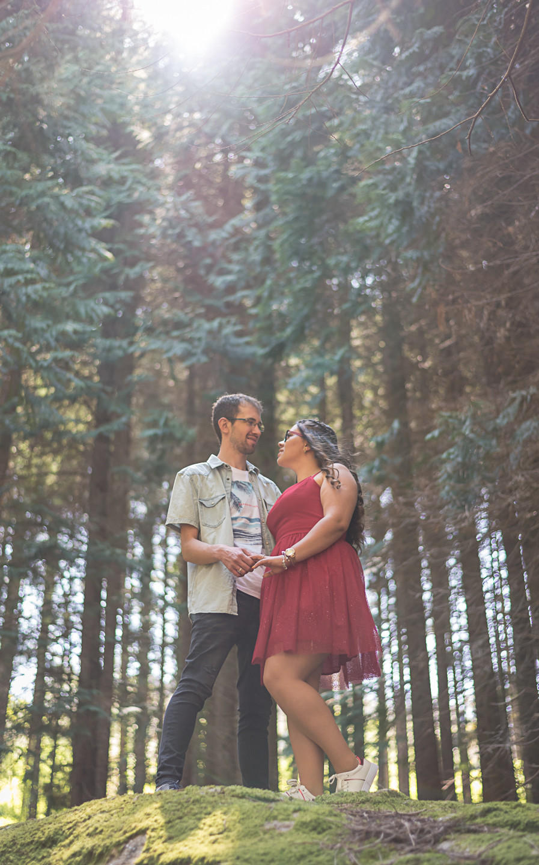 Filipa e Fábio os noivos