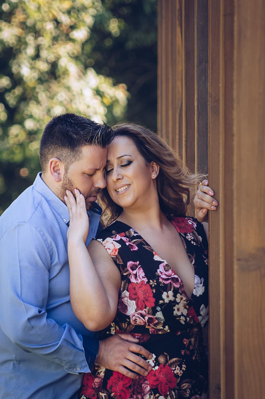 Os noivos Sílvia e António
