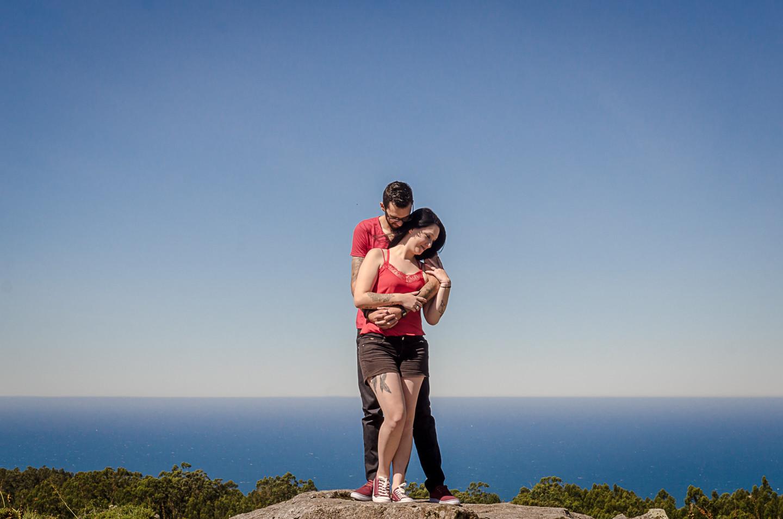 Tita Eiras e Micael Costa