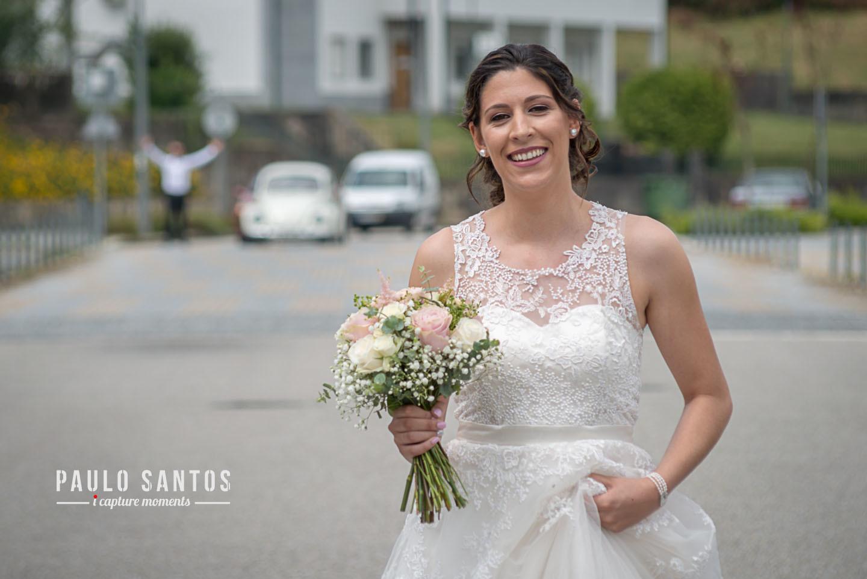 Adriana a noiva e Tiago