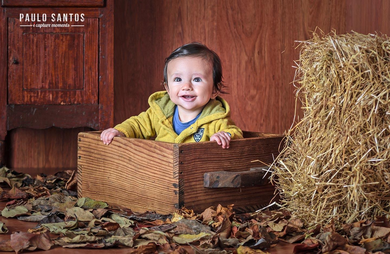 Um sorriso de criança