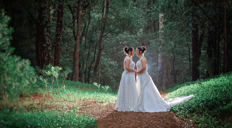 O casamento da Carla e Joana